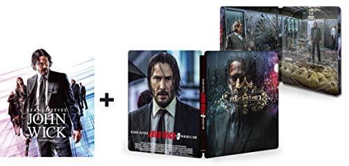 【Amazon.co.jp限定】JOHN WICK / ジョン・ウィック : パラベラム (日本オリジナルデザイン スチールブックケース付) [Steelbook] [Blu-ray]