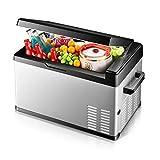 KAX Refrigerador portátil con pantalla digital Compresor Frigorífico congelador, 12 V / 24 V / 30l