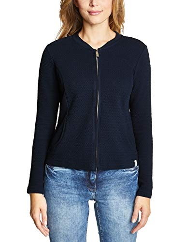 Cecil Damen 313227 T-Shirt, deep Blue, Medium (Herstellergröße:M)