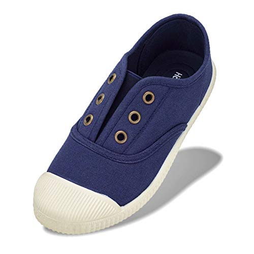 Kids Blue Canvas Shoes