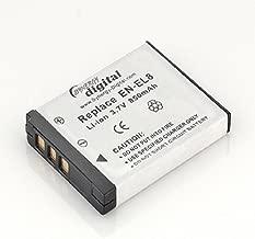 Nikon Coolpix S7c Digital Camera Battery (850 mAh) - Replacement for Nikon EN-EL8 Battery
