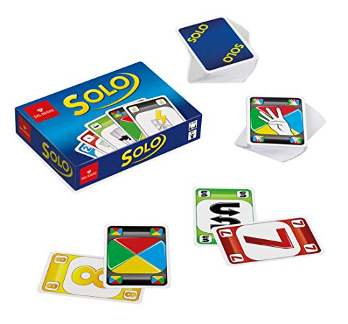Dal Negro du negro seulement New Jeu de cartes, multicolore, 53417 - Version Italienne