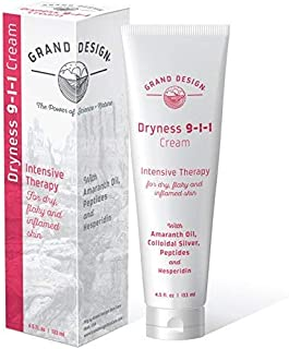 Grand Design - Dryness 9-1-1 Natural Moisturizing Face and Body Cream for Sensitive, Damaged, Irritated, and Dry Skin