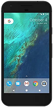 Google Pixel XL 128GB Verizon and GSM Unlocked, Quite Black, 5.5in(Renewed)