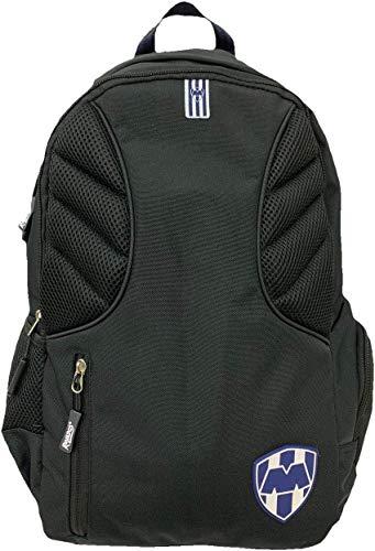 NUEVO Backpack-Mochila Negro Oficial Rayados Monterrey de ELT Sports