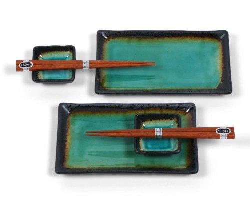 Miya Kosui Sushi Set, Green