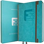 Foundation Daily Planner - Best Day Journal to Achieve Goals, Organize Your Life & be Productive in 2019 - Stylish + Flexible A5 Design; Perfect for Bullet Journals - 6 Month Undated Agenda