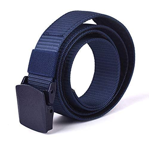 Hdrdmd Cinturón de Viaje antirrobo para Hombres, Bolsillo para Las señoras (con Abrazadera de Dinero y Billetera) 120 cm Negro