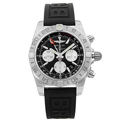 Breitling Chronomat AB042011/BB56-153S - Reloj automático de acero con esfera negra