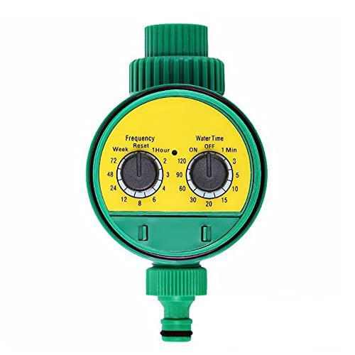 Yhjkvl Temporizador de riego automático Temporizador de riego programable automático Temporizador de riego digital Jardín Plantas anticorrosión Sistema controlador Temporizadores de manguera
