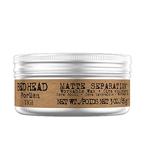 Tigi Bed Head Men Matte separation Workable Wax, 1 stuks (1 x 85 g)