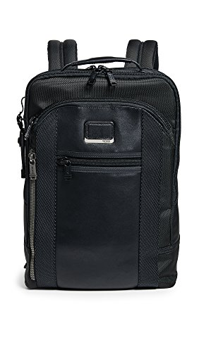 "Tumi Alpha Bravo - Davis Laptop Backpack 15"" Mochila Tipo Casual, 42 cm, 11.87 Liters, Negro (Black)"