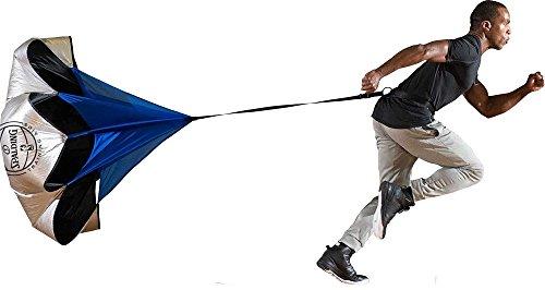 Spalding Strength Chute, Adjustable Size, Silver/Blue/Black