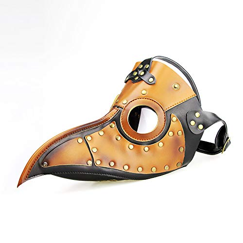 RCFRGV Halloween masker pest dokter Steampunk masker Masquerade mannen vrouwen kostuum masker partij Halloween