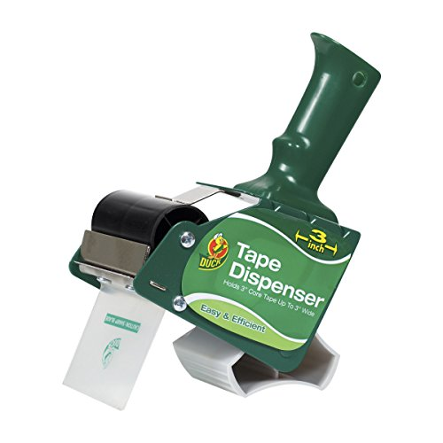 Duck Brand Standard Pistol Grip Tape Gun Dispenser for 3 inch Wide, 3 inch Core...