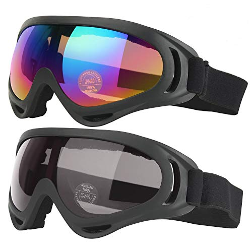 Ski Goggles, Motorcycle Goggles, Snowboard Goggles for Men Women & Youth,...