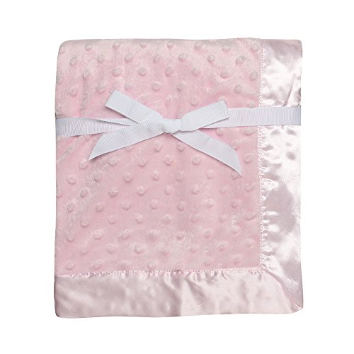 Top 10 baby blanket pink satin for 2020