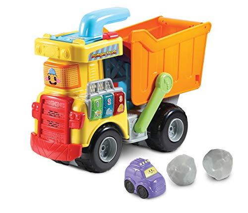 VTech Toot-Toot Drivers Dumper Truck, Baby Interactive Toys for Toddlers,...