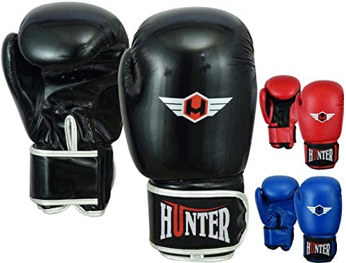 Hunter Boxing Gloves Muay Thai Training Professional Synthetic Leather Sparring Punching Bag product image