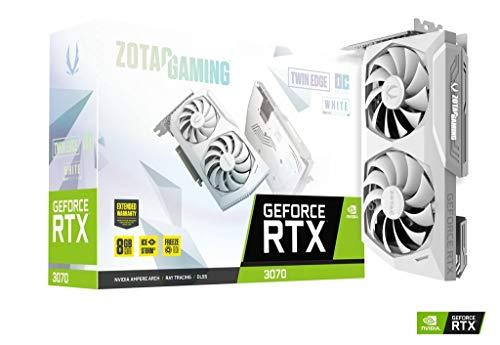 Scheda grafica ZOTAC GAMING GEFORCE RTX 3070 Twin Edge OC White Edition 8GB GDDR6