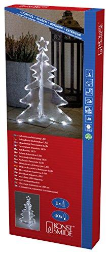 Konstsmide, Albero di Natale LED in acrilico