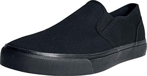 Urban Classics Low, Slip-on Sneaker Unisex-Adulto, Nero (Blk/Blk 00017), 45 EU