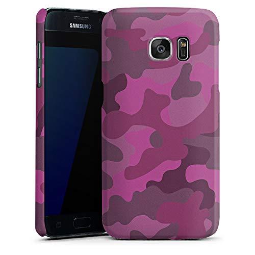 DeinDesign Premium Case Matt kompatibel mit Samsung Galaxy S7 Hülle Handyhülle Camouflage Bundeswehr Muster