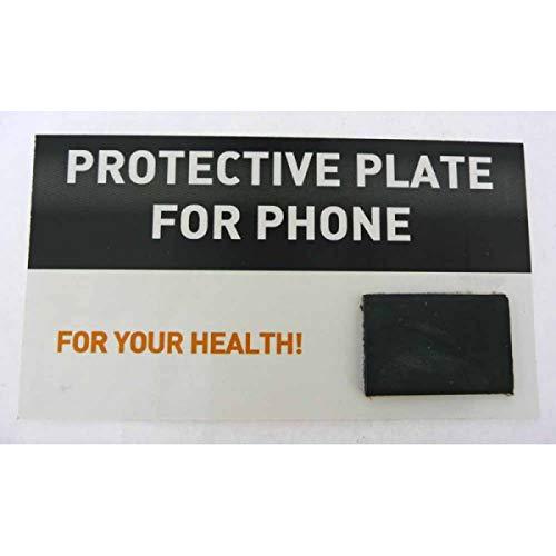 Placa Adhesiva Mineral Shungit, Shungite, Shungita, Rectangular, protección, Natural, para teléfonos móviles, color Negr