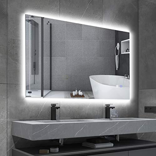Espejo de baño con iluminación LED