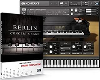◆NATIVE INSTRUMENTS Berlin Concert Grand ネイティブインストゥルメンツ ベルリン コンサート グランド KOMPLETE用音源 ◆並行輸入品◆