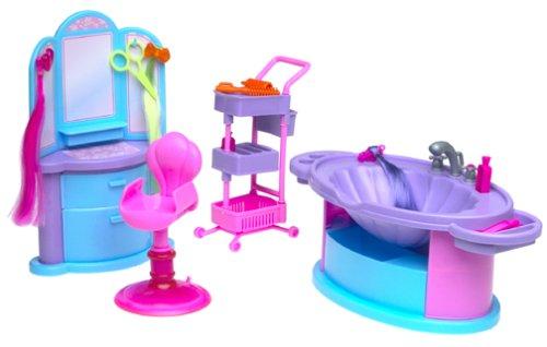 Barbie Salón Surprise Playset (2001)