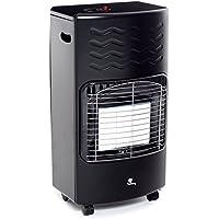 Sunny S40–01Estufa infrarrojos GPL S40, 4200W, Negro