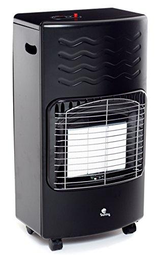 Sunny S40-01 Stufa Infrarossi Gpl S40, 4200 W, Nero