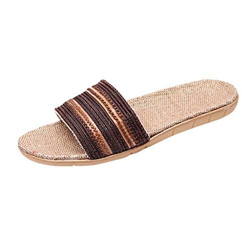 Fannyfuny_Zapatos Hombres Unisexo Zapatos Mujeres Zapatillas de Playa Chanclas para Hombre Sandalias Verano de Casa Unisex Zapatos de Playa y Piscina Outside Zapatillas Raya Deporte Sandalia