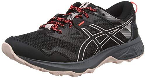 ASICS 1012A568-001_41,5, Zapatillas de Running Mujer, Negro, 41.5 EU