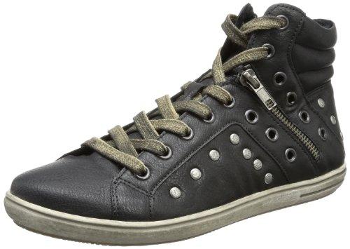 Rieker Kinder Rieker Teens K3074, Mädchen Sneaker, Schwarz (schwarz 01), EU 33