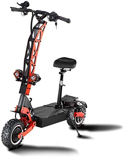 Review Xiaochongshan 5600W Electric Scooter 11 inches Off-Road Motor-bis Maximum Speed 85km / h, a L...