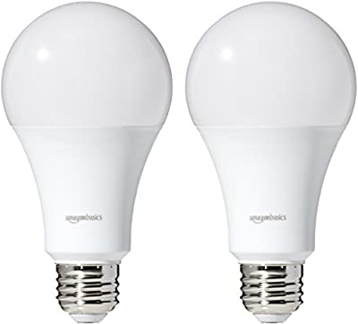 AmazonBasics Dimmable LED Light Bulbs (A19 and A21)