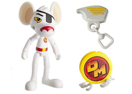 """Danger Mouse 3-Inch """"Danger Mouse"""" Figure with Zipline Accessory"""