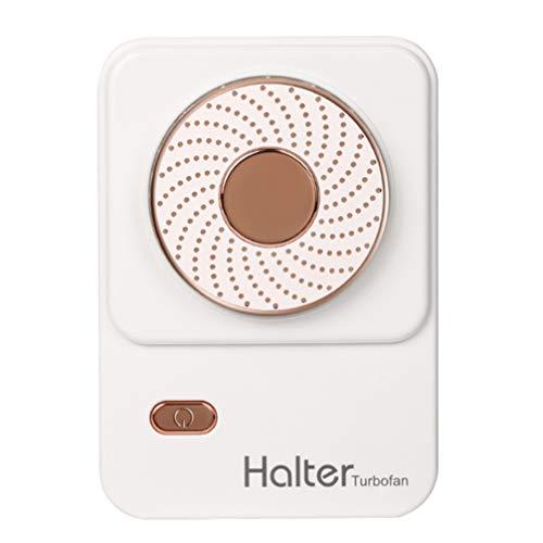 GARNECK Pequeños Ventiladores de Escritorio Portátil Ventilador de Mano Silencioso Personal Ventilador de Refrigeración de Verano para Viajes Al Aire Libre del Coche Dormitorio Blanco