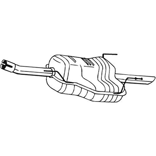 Bosal 185-481 Endschalldämpfer