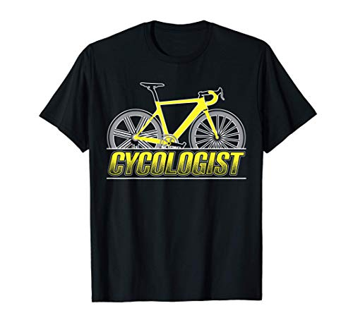 Cycologist Cycling Gift for a Bicyclist Cycology T-Shirt