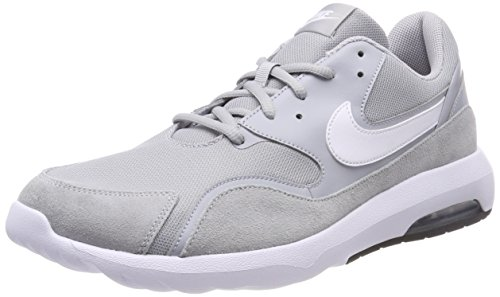 Nike Herren Air Max Nostalgic Laufschuhe, Grau (Wolf Grey/White/Black 001), 46 EU