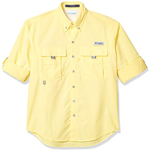 Columbia Men's PFG Bahama II Long Sleeve Shirt , Sunlit, Large