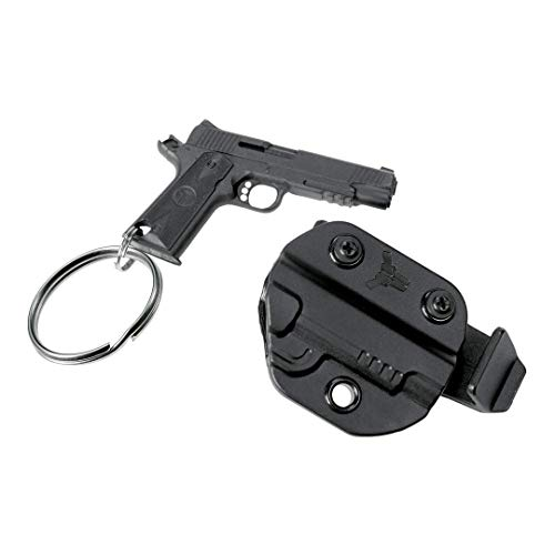Blade-Tech Keychain Gun and Holster with Belt Clip (1911)