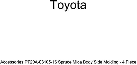 Genuine Toyota Accessories PT29A-03105-16 Spruce Mica Body Side Molding - 4 Piece