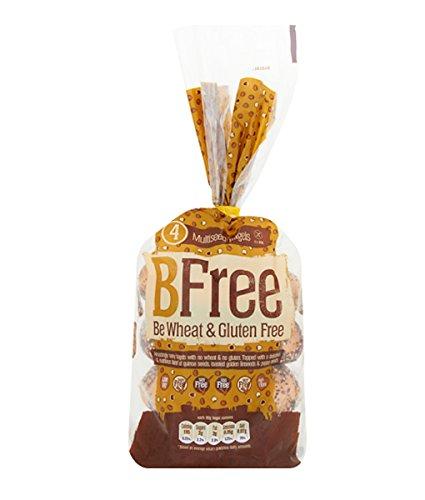 Bfree Gluten Free Bagels, Multiseed, Vegan, Soy Free, Egg Free, Nut Free, Dairy Free, Kosher 11.29 Oz (Pack Of 3)