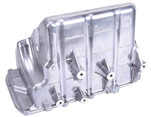 Bapmic 1320100013 Aluminum Engine Oil Pan for 2008-2015 Smart Fortwo