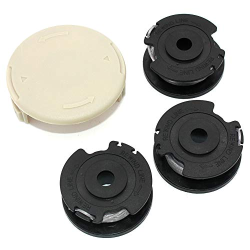 Cubierta de tapa de carrete de línea de desbrozadora de alimentación de carrete para Bosch ART 23 SL ART 26 SL Cortadora de hilo F016800385