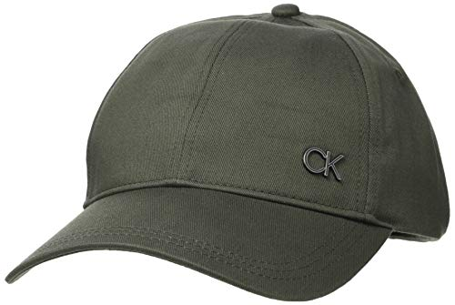 Calvin Klein BB Cap Gorra de bisbol, Verde Oliva, One Size para Hombre